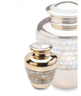 Keepsake Urns - MOTHER OF PEARLS