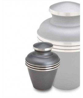 Keepsake Urns - SATURN BRUSHED