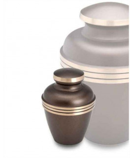 Keepsake Urns - SATURN BROWN