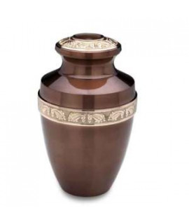 Funeral urns - COPPER VIENNESE