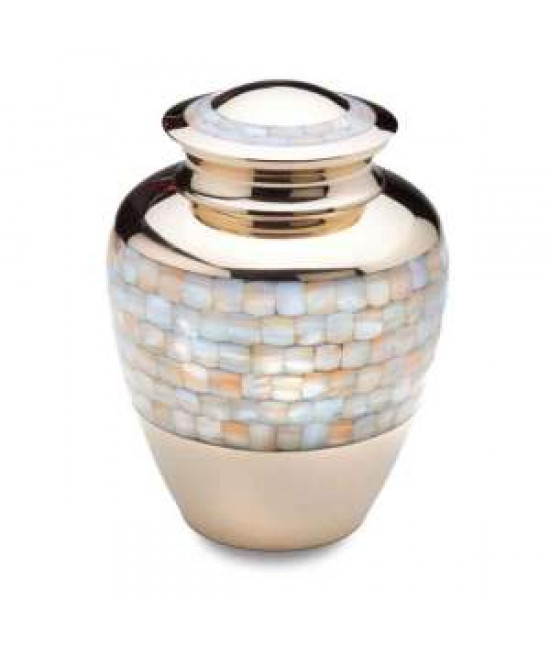 Funeral Urns - MOTHER OF PEARLS