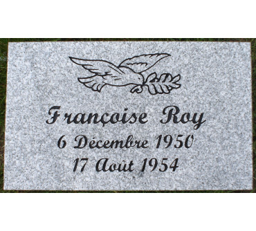Granite Memorial Plaques #016