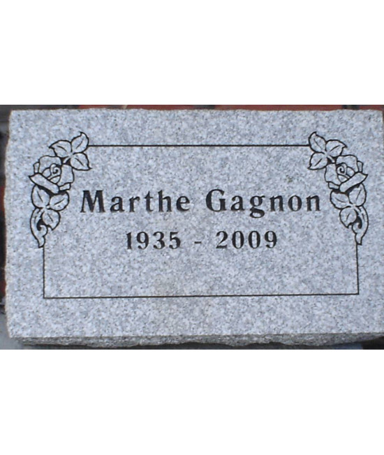 Granite Memorial Plaques #018