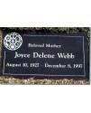 Granite Memorial Plaques #021
