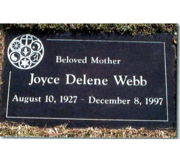 Granite Memorial Plaques #021