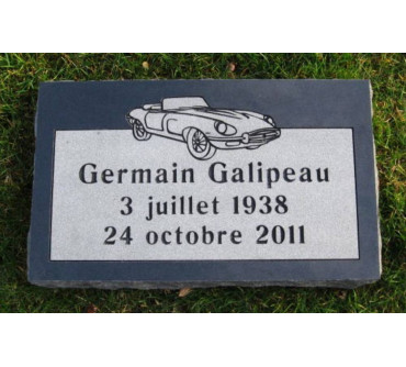 Granite Memorial Plaques #026