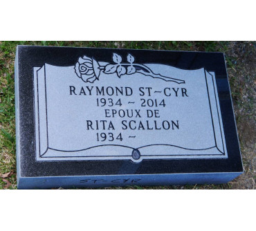 Granite Memorial Plaques #030